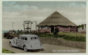 mozambique, LOURENÇO MARQUES, Sea-Point, Car (1930s) Postcard