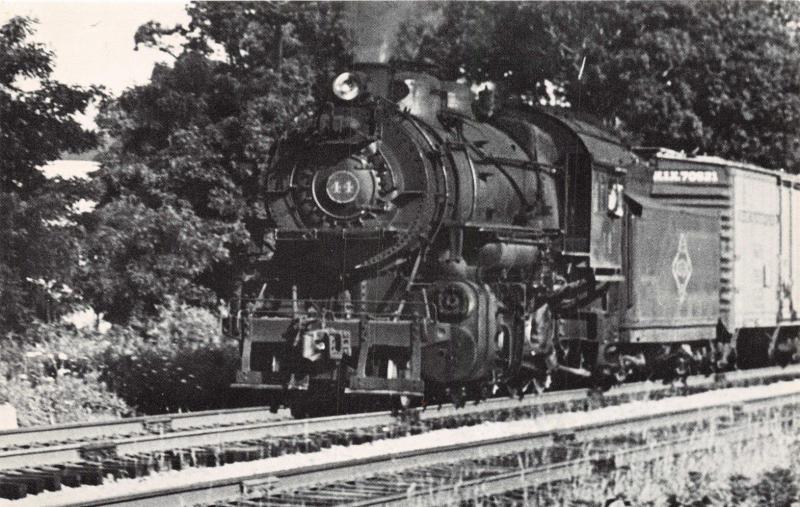 WARDS CORNER-NORFOLK VA~NORFOLK & WESTERN RAILROAD BELT LINE~1955 PHOTO POSTCARD