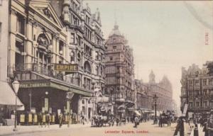 England London Leicester Square Street Scene