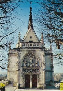 France Chateau D'Amboise Chapelle Saint-Hubert