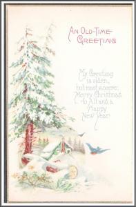 An Old-Time Greeting Christmas - [MX-214]