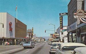 Main Street , PENTICTON , B.C. , Canada , 50-60s