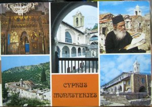 Cyprus Monasteries Multi-view - posted 1993