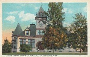 EAST NORTHFIELD , Massachusetts, 1925; Talcott Library, Northfield Seminary