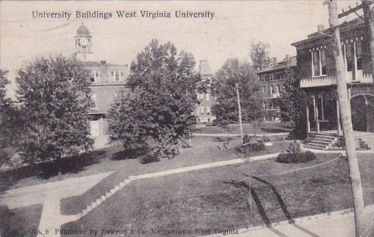 West Virginia Montgomery University Buildings West Virginia University 1907