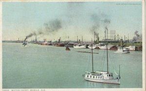 MOBILE , Alabama , 1923 ; Waterfront