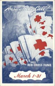 Poster Art - Red Cross 1953 Promo Postcard