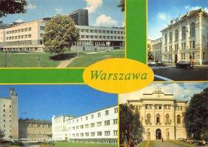 Poland Warszawa Biblioteka Uniwersytetu Warszawskiego Postcard