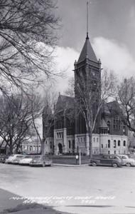 Iowa Red Oak Montgomery County Court House Real Photo