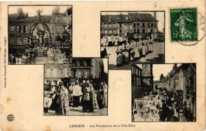 CPA Langres - Les Processions de la Fete-Dieu (270360)