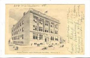 National Protective Legion Building,Post Office,Waverly,New York,PU 1906