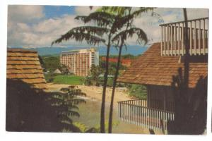Hawaii Kauai Surf Resort Cliff Cottages 1971 Postcard