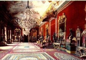 Spain Madrid Royal Palace Throne Hall