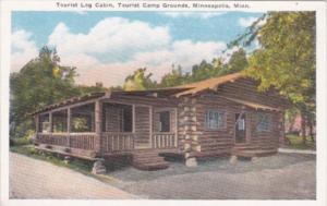 Minnesota Minneapolis Tourist Log Cabin Tourist Camp Grounds