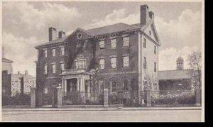 Massachusetts Cambridge Phillips Brooks House Harvard University Albertype