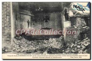 Postcard Old English Franco offensive of the Somme