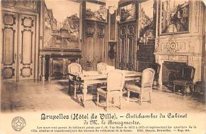 Bruxelles Belgium, Belgique, Belgie, Belgien Hotel de Ville Bruxelles Hotel d...