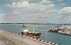 Man made lake, Great St Lawrence Seaway Project , Ontario  , Canada , 50-60s