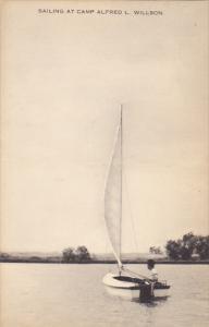 Sailing At Camp Alfred L Willson Ohio Artvue