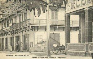 CPA AK Sénégal Afrique Dakar - Hotel des Postes et Télégraphes (68142)