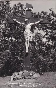 RP, Crucifix On Necedah Bluff, Necedah, Wisconsin, 1930-1950s