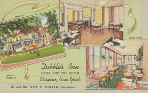 VERNON , New York , 30-40s ; Dibble's Inn Grill and Tap Room