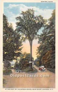 Old Vintage Shaker Post Card At the Foot of the  Roads Mount Lebanon, New Yor...