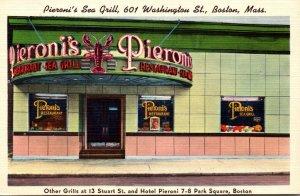 Massachusetts Boston Pieroni's Sea Grill 601 Washington Street