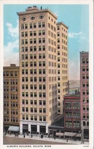 Minnesota Duluth The Alworth Building Curteich