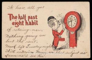 The Half Past Eight Habit
