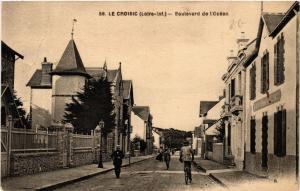 CPA  Le Croisic (Loire-inf.) - Boulevard de l'Océan   (587995)