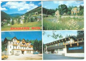 Czech Republic, SPINDLERUV MLYN, 1992 used Postcard