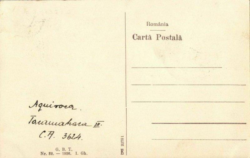 romania, TIMIȘOARA, Gara Domnița Elena, Railway Station (1926) Postcard