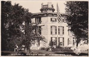 RP: Historic Octagon House, Watertown, Wisconsin, 1920-40s