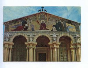 201920 Jordan Jerusalem Church Gethsemane Vintage RPPC to USA