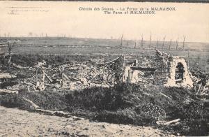 B105075 France Chemin des Dames La Ferme de la Malmaison, The Farm