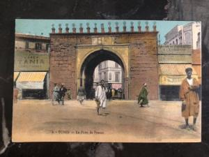 Mint Tunisia Picture Postcard The Door Of France