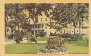 Maine Lewiston The De Witt Hotel