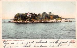 PORTLAND MAINE PUMPKIN KNOB ISLAND~DETROIT PUBL #9745 POSTCARD 1900s