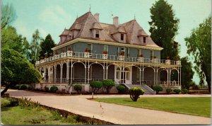 Fresno CA Theo Kearney Residence Postcard unused 1950s