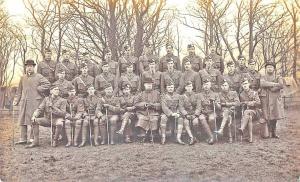 Capt. Laidlaw w/ Argyle Southerland Highlanders Real Photo Postcard