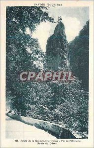 Old Postcard Route Grande Chartreuse Savoie Tourism Pic of poppy Desert Road