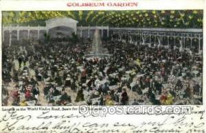 World under roof, Chicago, USA 1906 Opera Postcard Postcards  World under roo...