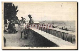 Old Postcard Chatelaillon Plage