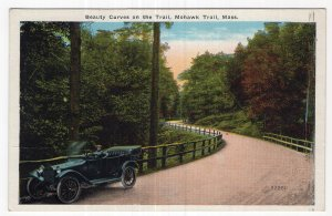 Mohawk Trail, Mass, Beauty Curve on the Trail