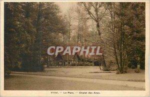 Old Postcard Vittel The Donkeys of Chalet Park