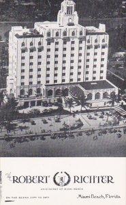 The Robert Richter Hotel Miami Beach Florida