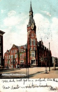 Maryland Baltimore State Normal School 1905