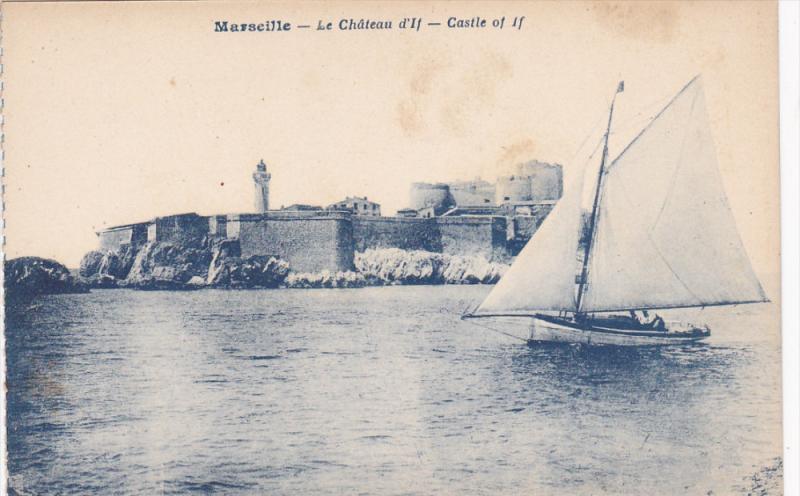 MARSEILLE, Bouches-Du-Rhone, France, 1900-1910´s; Le Chateau D´if, Castle O...