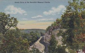 Scenic Drive In The Beautiful Missouri Ozarks Missouri